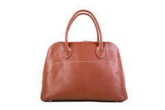 Brown Leather Handbag Stock Photos