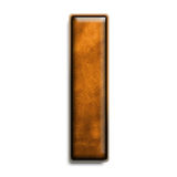 Brown leather I. Individual isolated letter I in brown leather series Stock Images