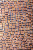 Brown leather imitation texture Stock Photos