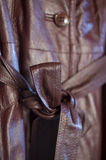 Brown Leather Stock Images