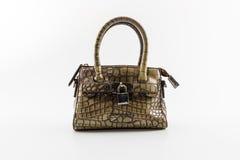 Brown Leather Ladies Handbag. Stock Photos