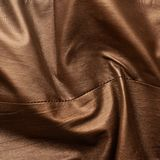 Brown leather material fragment Royalty Free Stock Images