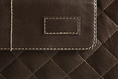 Brown leather pattern Stock Photos