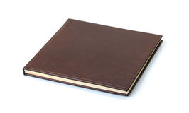 Brown leather photo Stock Images