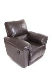 Leather recliner Stock Images