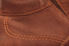 Brown leather suede Royalty Free Stock Photo