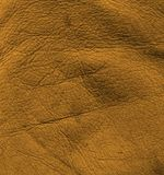 Brown leather surface Stock Photography