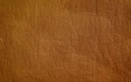 Brown leather texture Stock Images