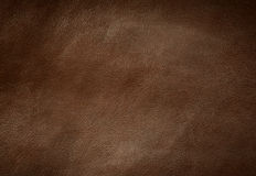 Brown leather texture stock image