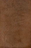 Brown leather texture. Natural qualitative brown leather texture. Close up Royalty Free Stock Photo