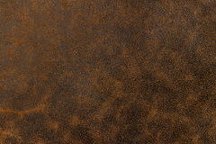 Brown leather texture. As background Stock Photo
