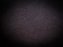 Brown leather texture. As background Stock Photography