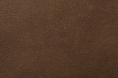 Brown leather texture as background.  Royalty Free Stock Photography