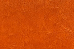 Brown leather texture as background. Abstract Stock Photo