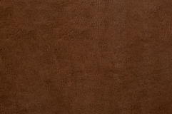 Brown leather texture as background. Brown colored leather texture as abstract background royalty free stock image