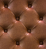 Brown leather texture as background Royalty Free Stock Photo
