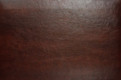 Brown leather texture. As background. texture for your design Royalty Free Stock Image