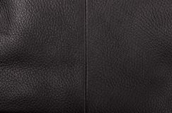 Brown leather texture. Background; texture of the bag Stock Photo