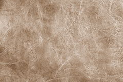 Brown leather texture background Stock Photos