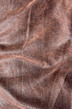 Brown leather texture background Stock Images