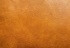 Brown leather texture background Royalty Free Stock Photos