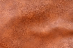 Brown leather texture background Royalty Free Stock Photo