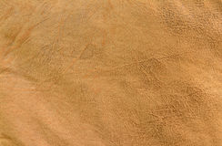 Brown leather texture background. Royalty Free Stock Photo