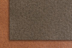 Brown leather texture, brown leather bag. Royalty Free Stock Photography
