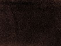 Brown leather texture closeup. Useful as background for design-works. The brown leather texture closeup. Useful as background for design-works Royalty Free Stock Photography
