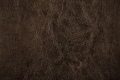 Brown leather or texture for design. Dark brown leather or texture for design royalty free stock image