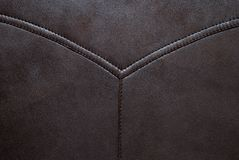 Brown leather texture may used as background stock photography