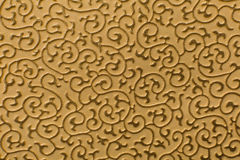 Brown leather texture print as background Royalty Free Stock Photo