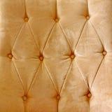 Brown leather vintage sofa royalty free stock photo