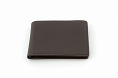 Brown leather wallet . Royalty Free Stock Photo