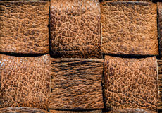 Brown leather Royalty Free Stock Images