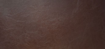 Brown leatherette texture for background. Stock Photos