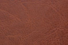 Brown-Leder Lizenzfreies Stockfoto