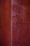 Brown-Lederbeschaffenheit Lizenzfreies Stockbild