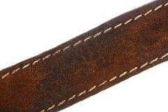 Brown-Ledergürtel lizenzfreies stockfoto