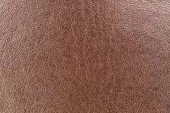 Brown-lether Detail - Beschaffenheit Stockbilder