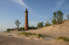 Brown Lighthouse Royalty Free Stock Image