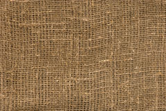 Brown Linen Canvas Texture Stock Images
