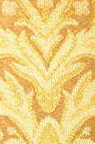 Golden Brown Linen Cloth Close up Royalty Free Stock Photo