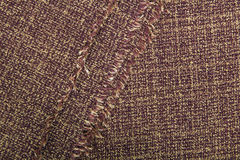 Brown  linen texture Royalty Free Stock Image