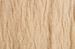 Brown linen texture background Stock Photo