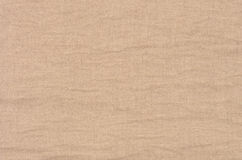Brown linen texture background Stock Images