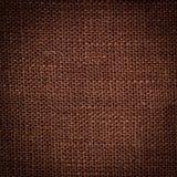 Brown linen texture. Closeup. Backdrop for design Stock Photography