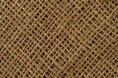 Brown Linen texture Stock Image