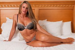 Brown lingerie Royalty Free Stock Photos