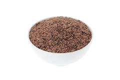 Brown Linseed or Flax seed Stock Photography